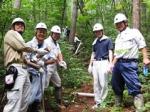 2015森林整備事業�A 精鋭部隊