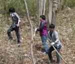 連合群馬主催森林整備ボランティア